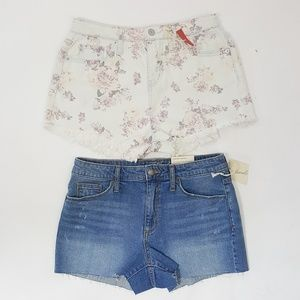 Universal Thread And Mossimo High Rise Shorts 6